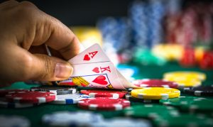 Construction Manager's Poker Playing