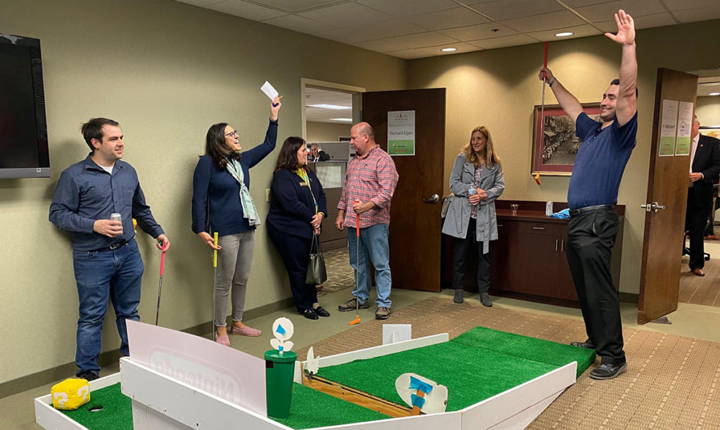 The Curchin Group Raises $18,500 for Two Local Charities at 14th Annual Indoor Mini Golf Tournament